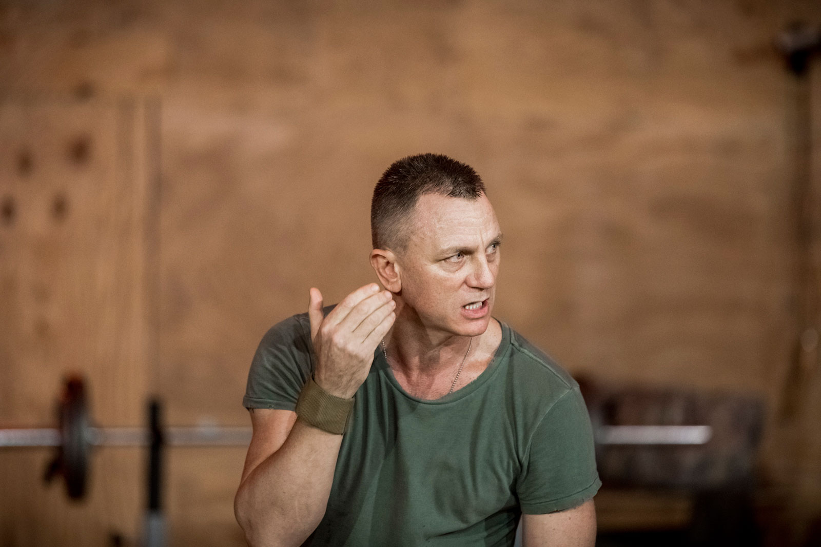 Daniel Craig as Iago in Sam Gold's Othello at the New York Theatre Workshop, 2016