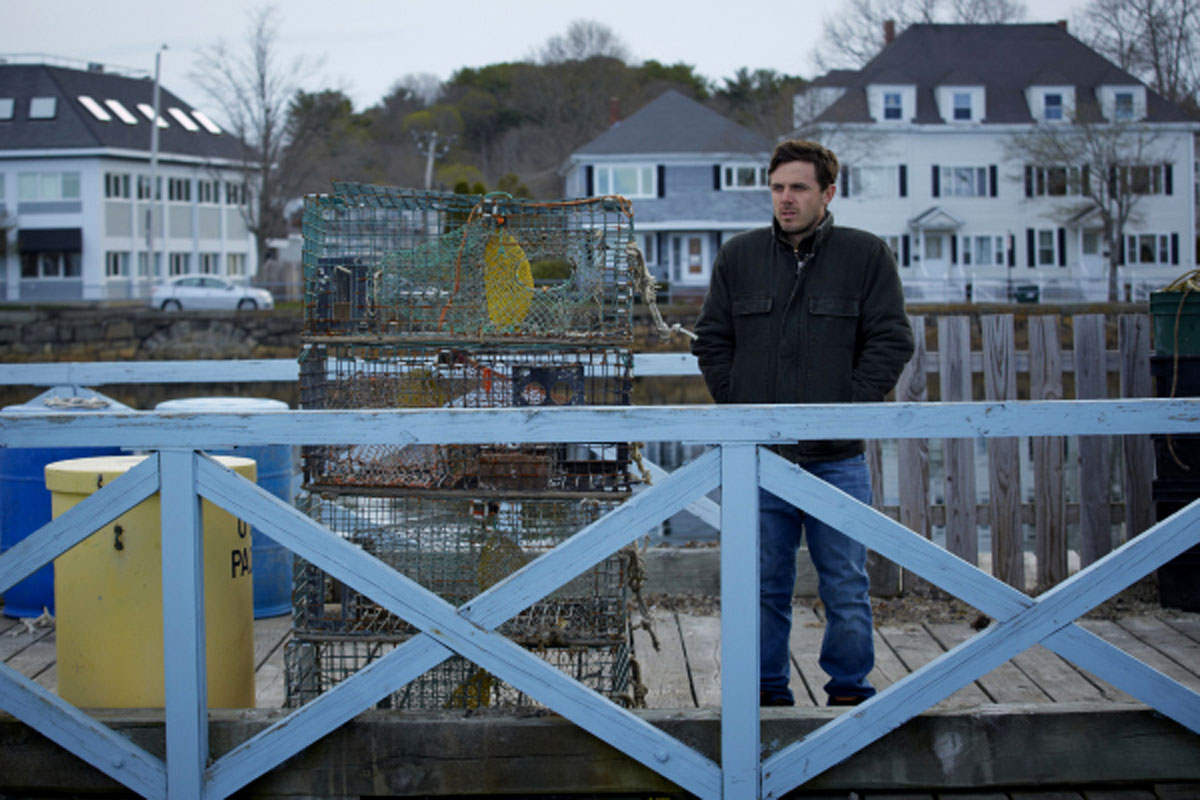Casey Affleck as Lee Chandler in Kenneth Longren's Manchester by the Sea, 2016