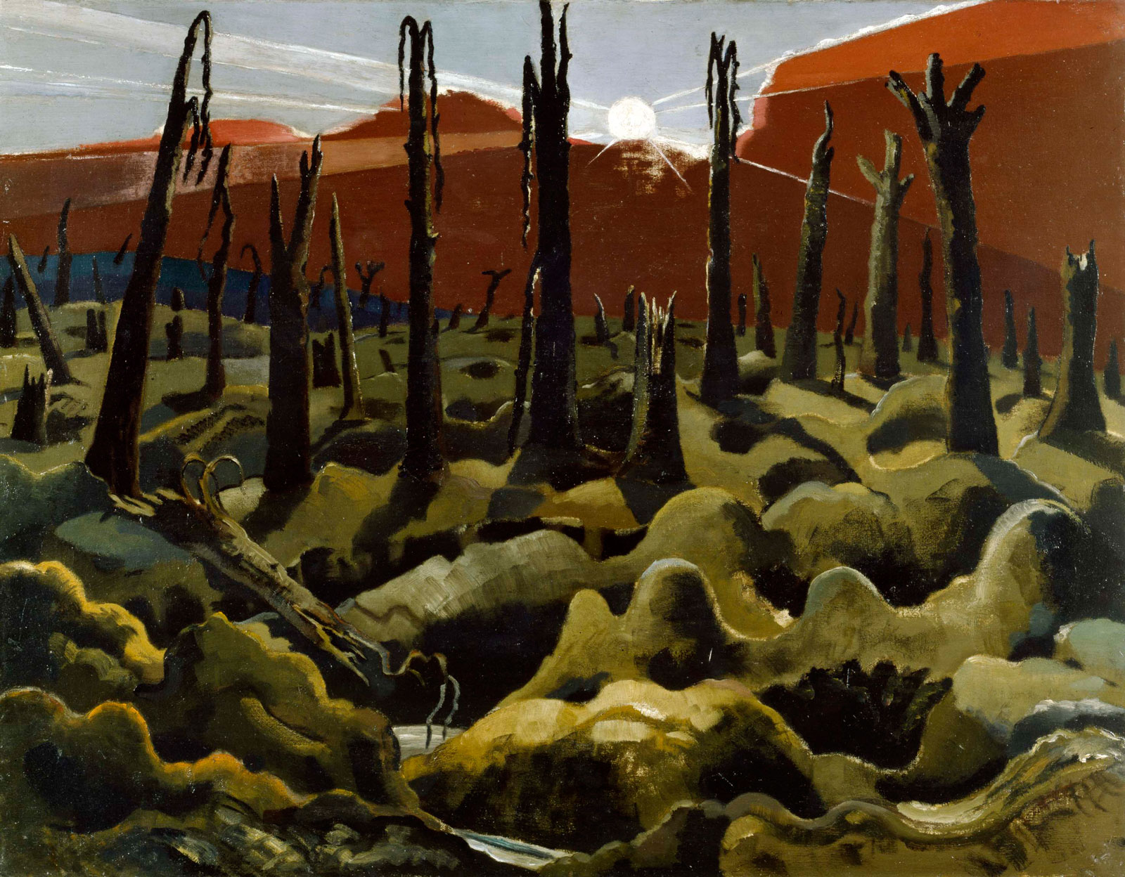 Paul Nash: We are Making a New World, 1918