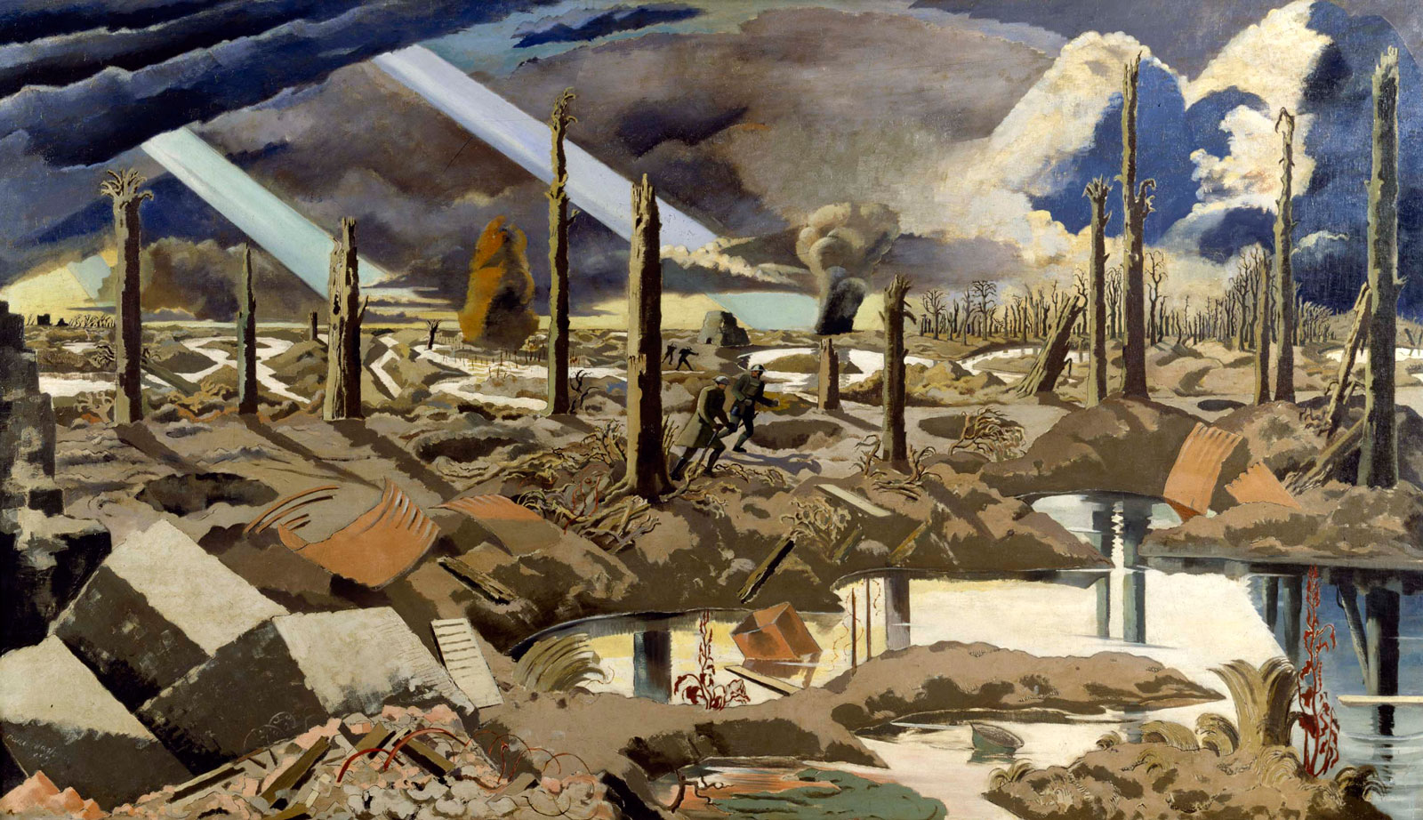 Paul Nash: The Menin Road, 1919