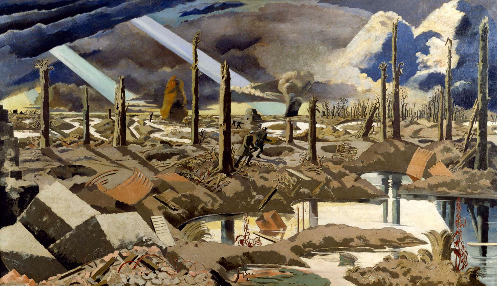 Paul Nash: The Menin Road, 1919