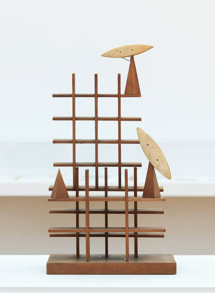 Paul Nash's recently rediscovered sculpture, <em>Moon Aviary</em>, 1937