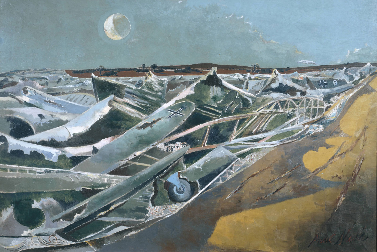 Paul Nash: Totes Meer (Dead Sea), 1940–1941