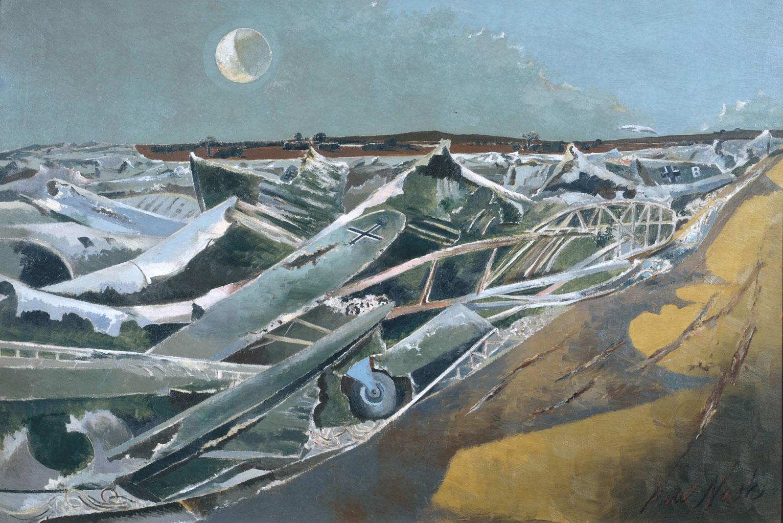 Paul Nash: Totes Meer (Dead Sea), 1940–1941