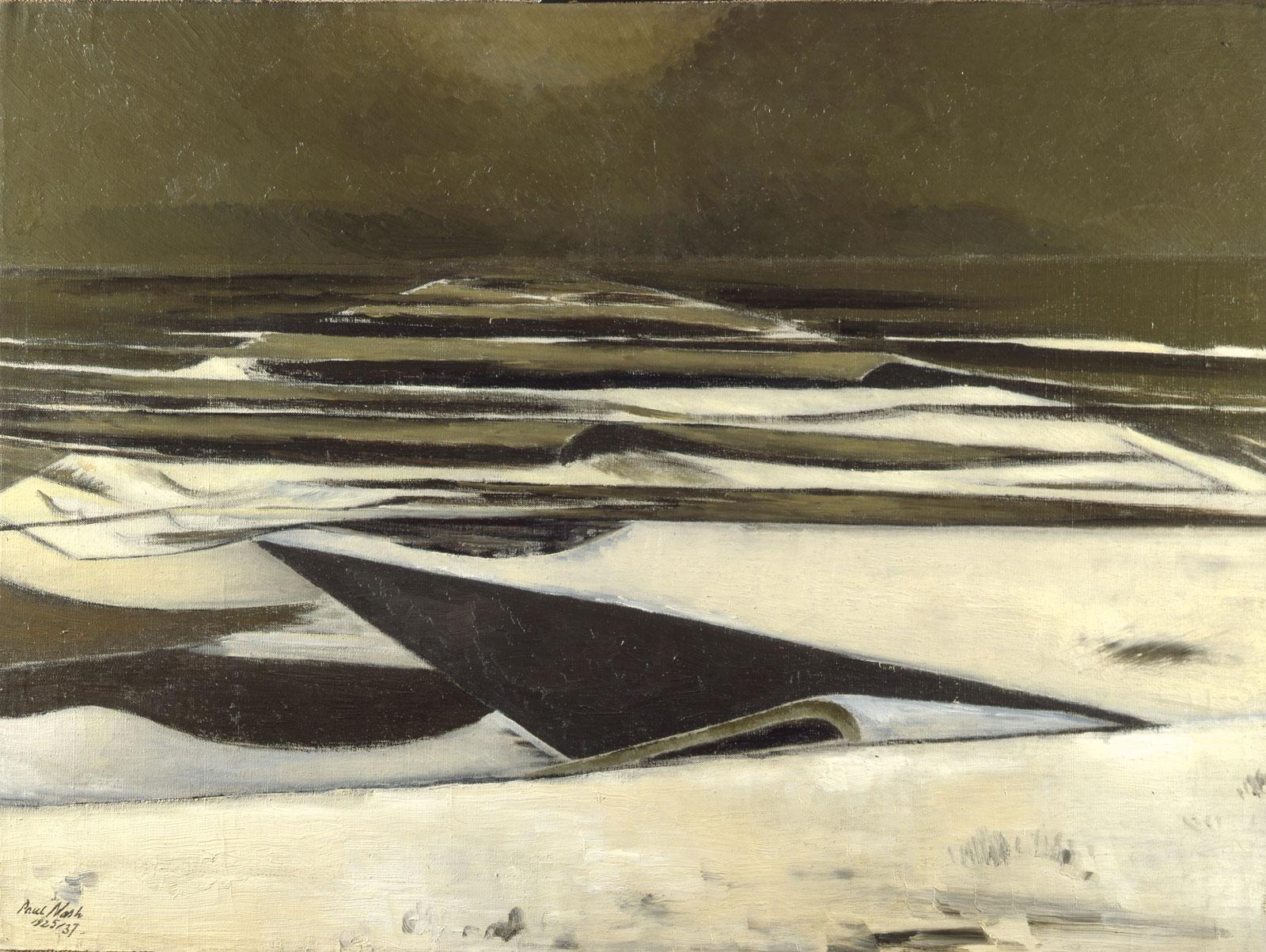 Paul Nash: Winter Sea, 1925-1937