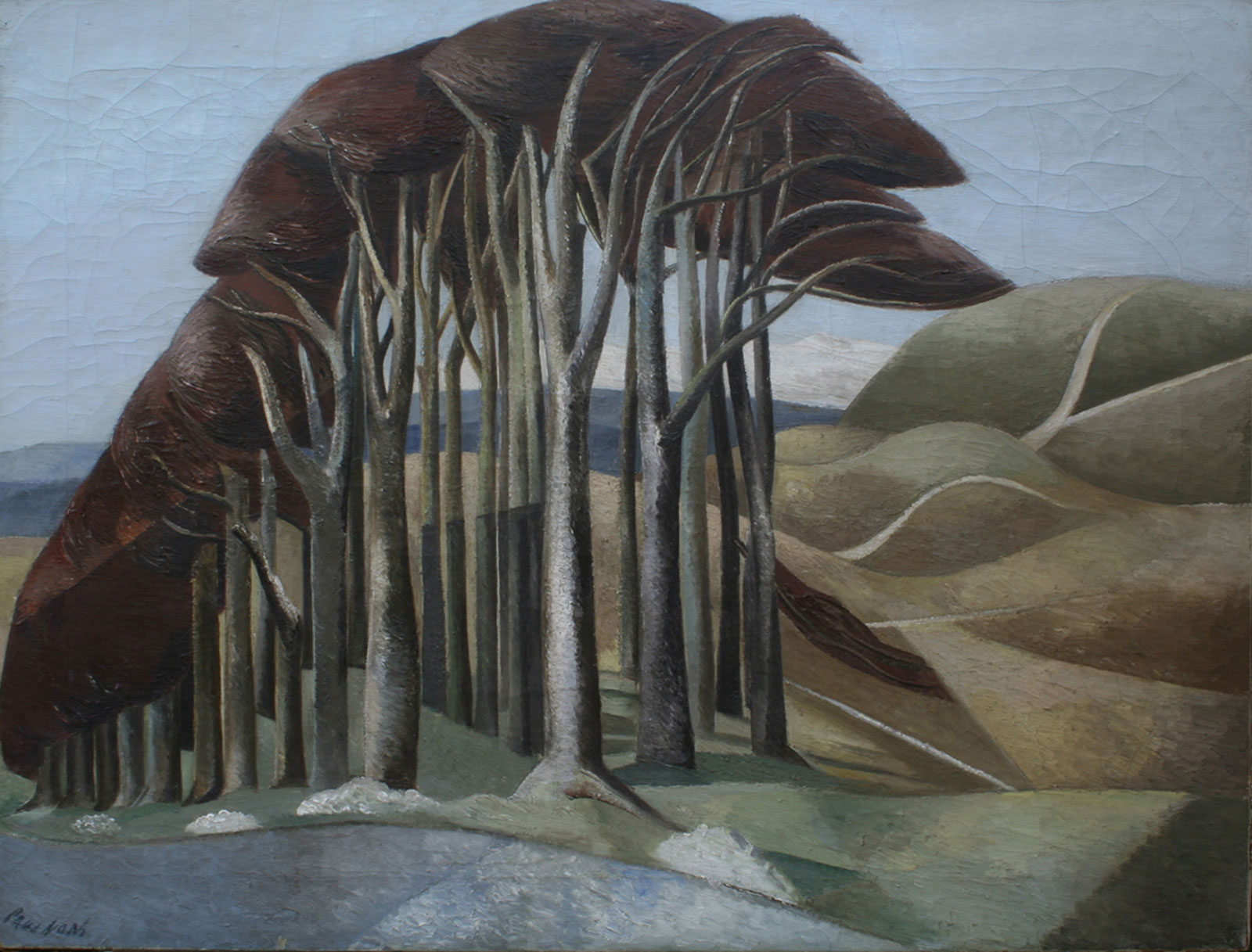 Paul Nash: Wood on the Downs, 1930
