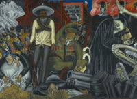 José Clemente Orozco: The Epic of American Civilization (detail), 1932–34; click to enlarge