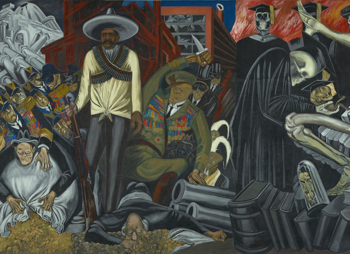 José Clemente Orozco: The Epic of American Civilization (detail), 1932–34