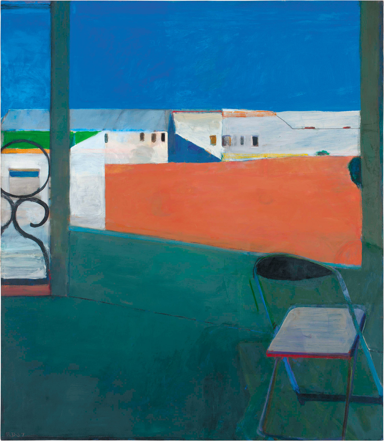 Richard Diebenkorn: Window, 92 x 80 inches, 1967
