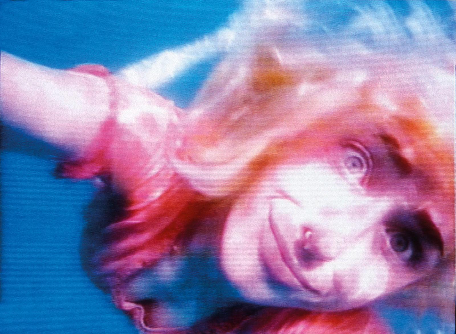 Still from Pipilotti Rist's Sip My Ocean, 1996