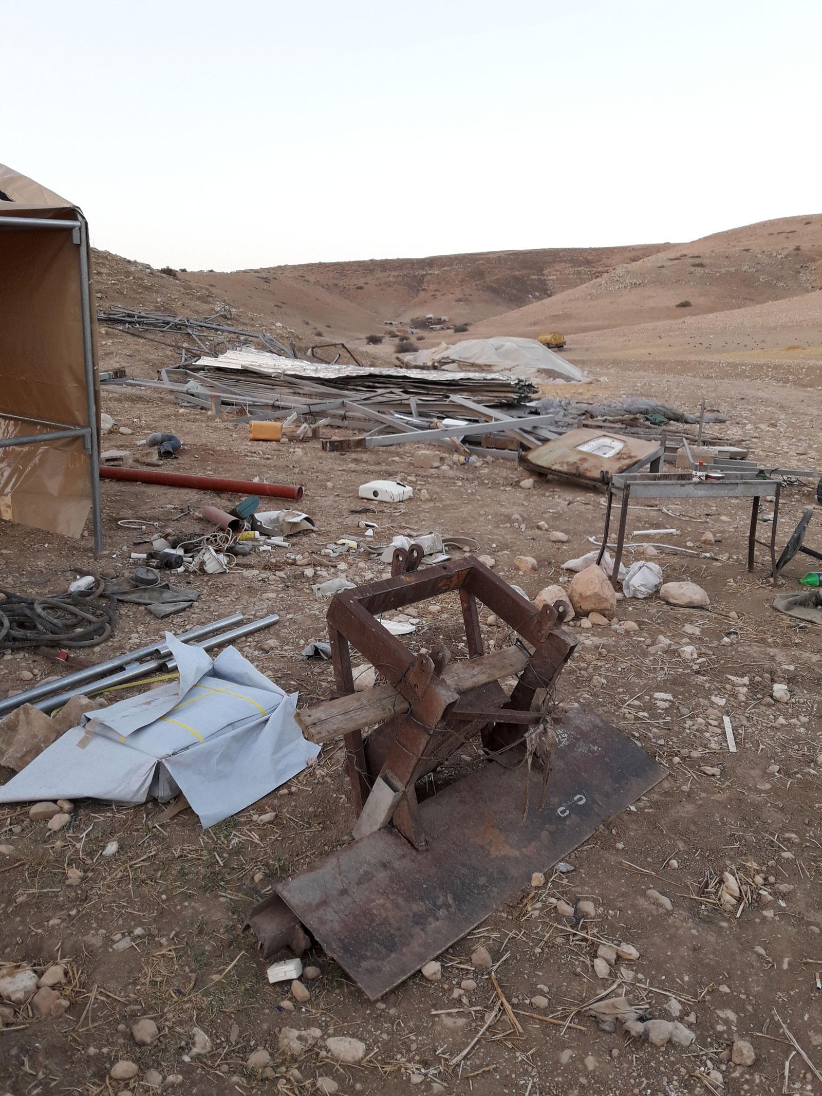 Al-Hammeh after the demolition, 2016