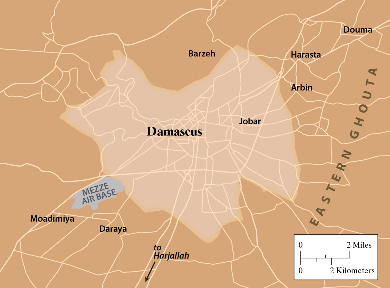 Damascus-Detail