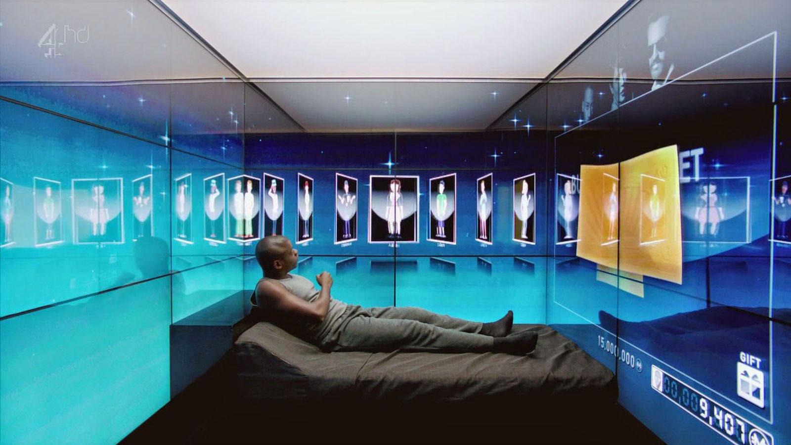 "Daniel Kaluuya as Bing in ""Fifteen Million Merits,"" <em>Black Mirror</em> Season 1, 2011"