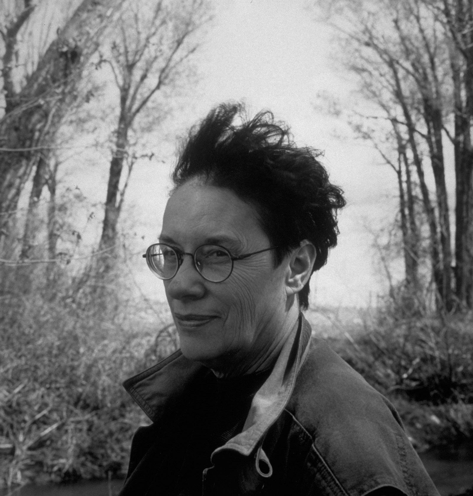 Annie Proulx near Sheridan, Wyoming, 1996