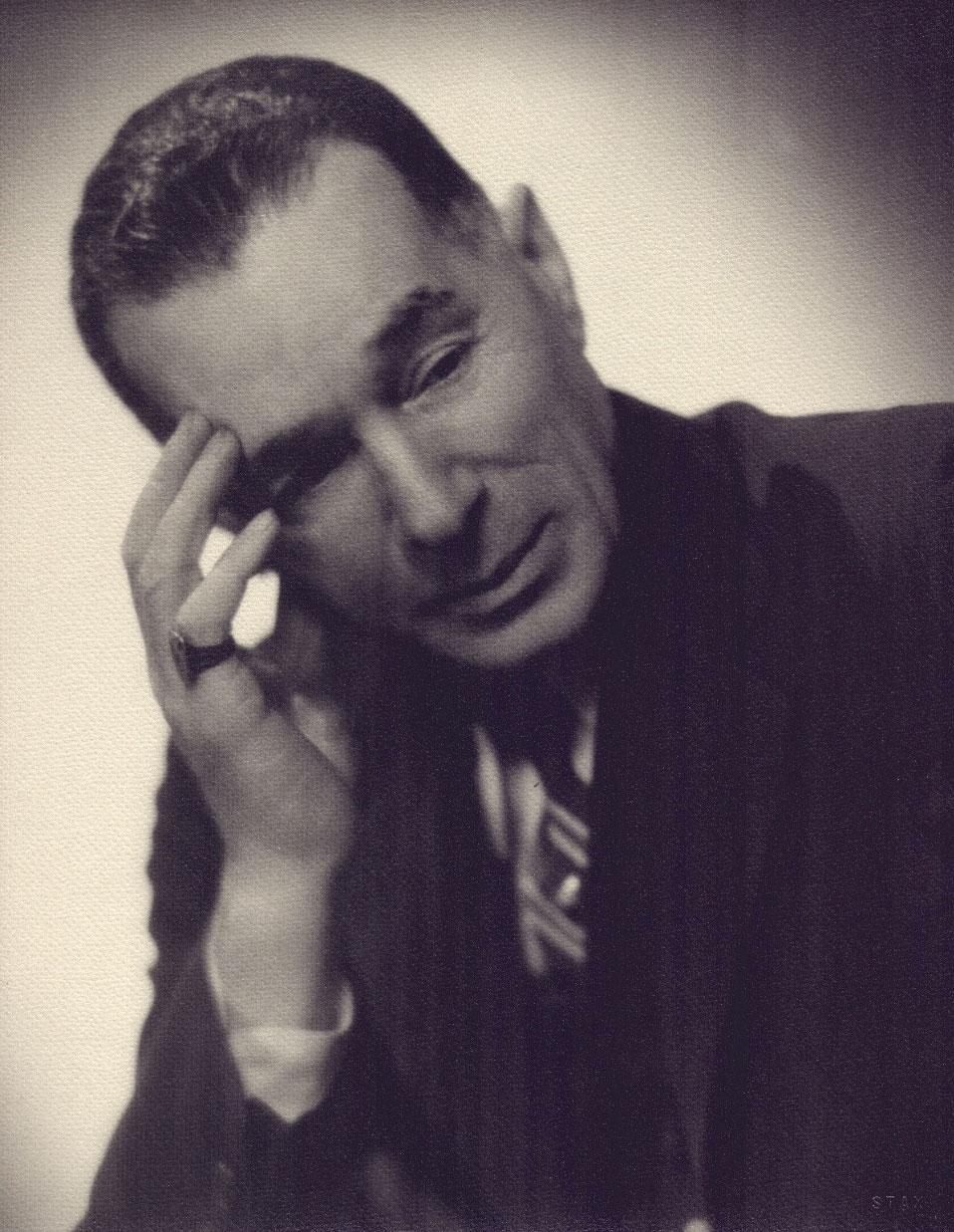 Rob Stolzer's photograph of George Herriman, circa 1940