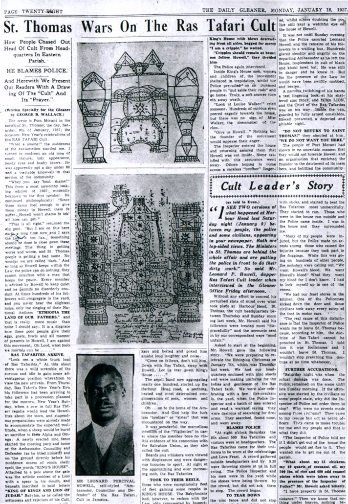 The Daily Gleaner, Monday, January 18, 1937