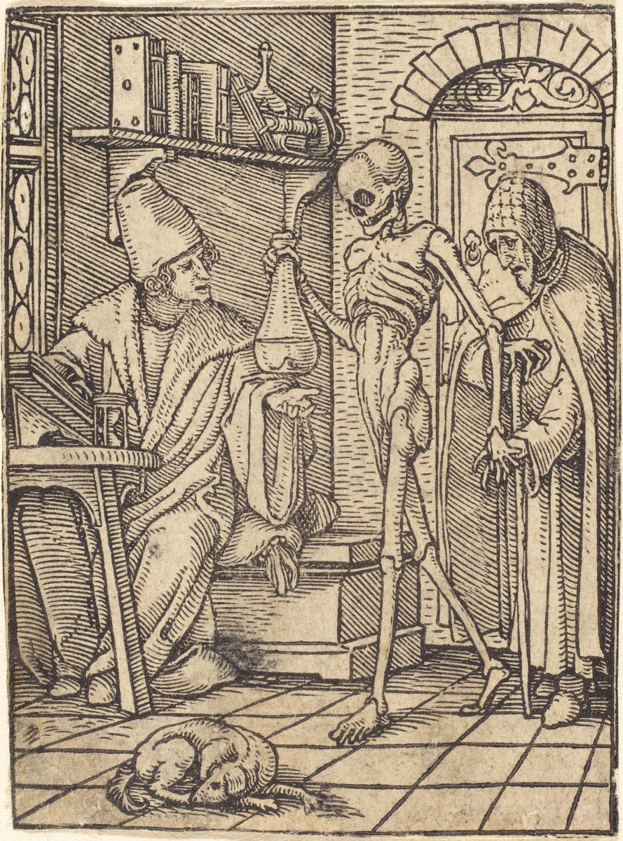 holbein-physician
