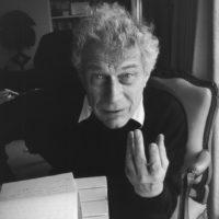 John Berger, photographed by Henri Cartier-Bresson, Paris, 1994