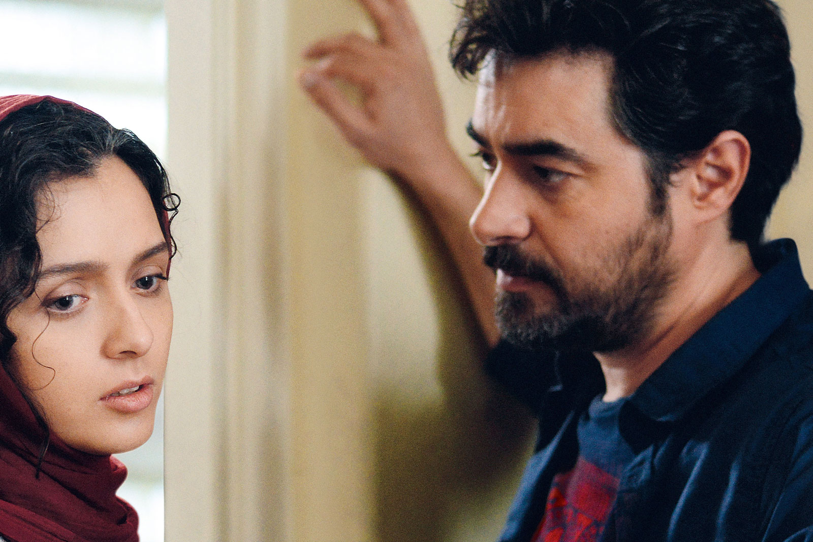 Taraneh Alidoosti as Rana and Shahab Hosseini as Emad in The Salesman, 2016