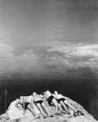 'Dreaming in the Sun,' Portofino, Italy, circa 1936; photograph by Herbert List