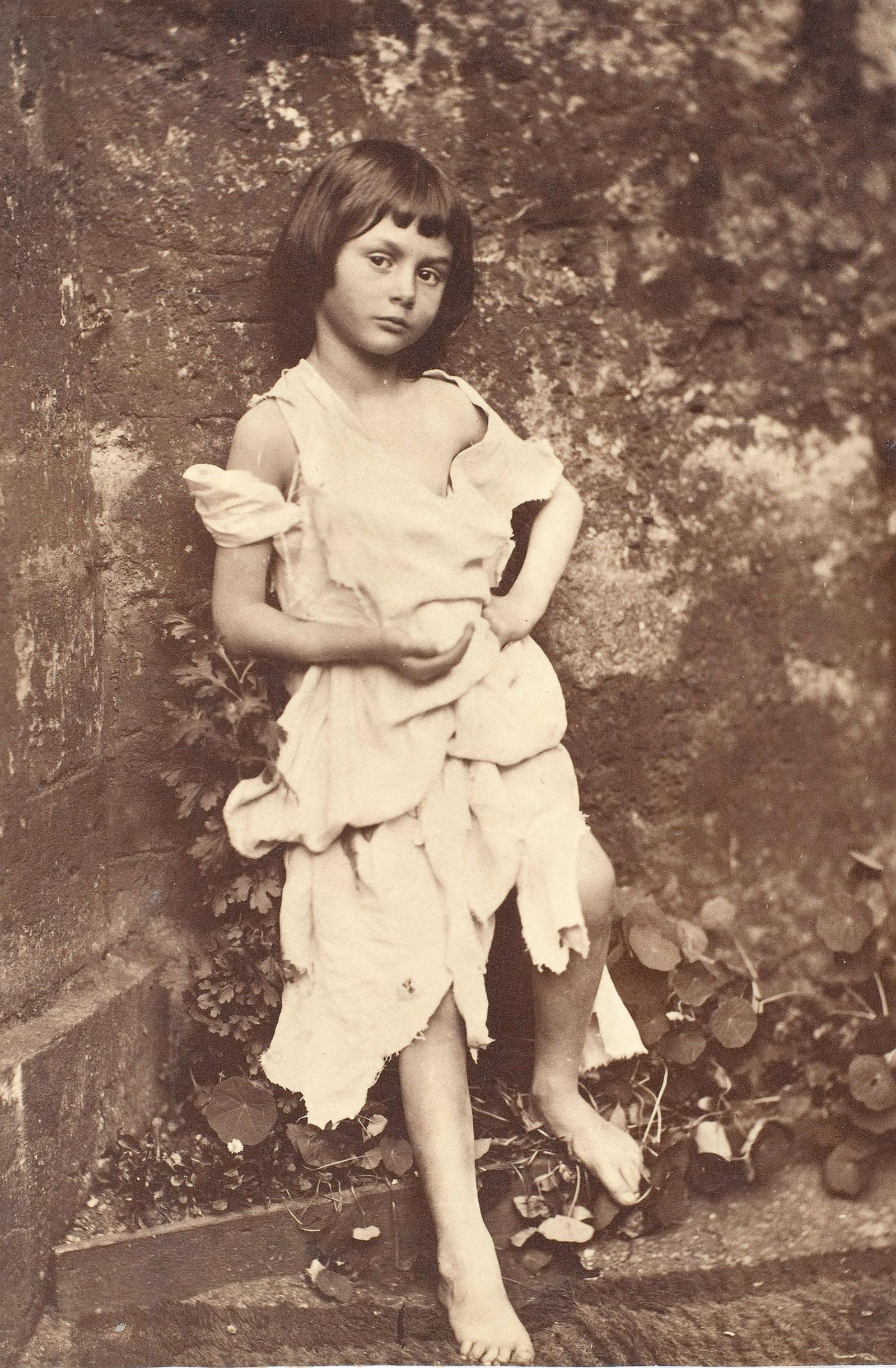 Charles Dodgson (Lewis Carroll): Alice Liddell as a Beggar Child, 1858