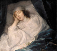 Anthony van Dyck: Venetia, Lady Digby, on Her Deathbed, 1633