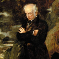 William Wordsworth; portrait by Benjamin Haydon, 1842