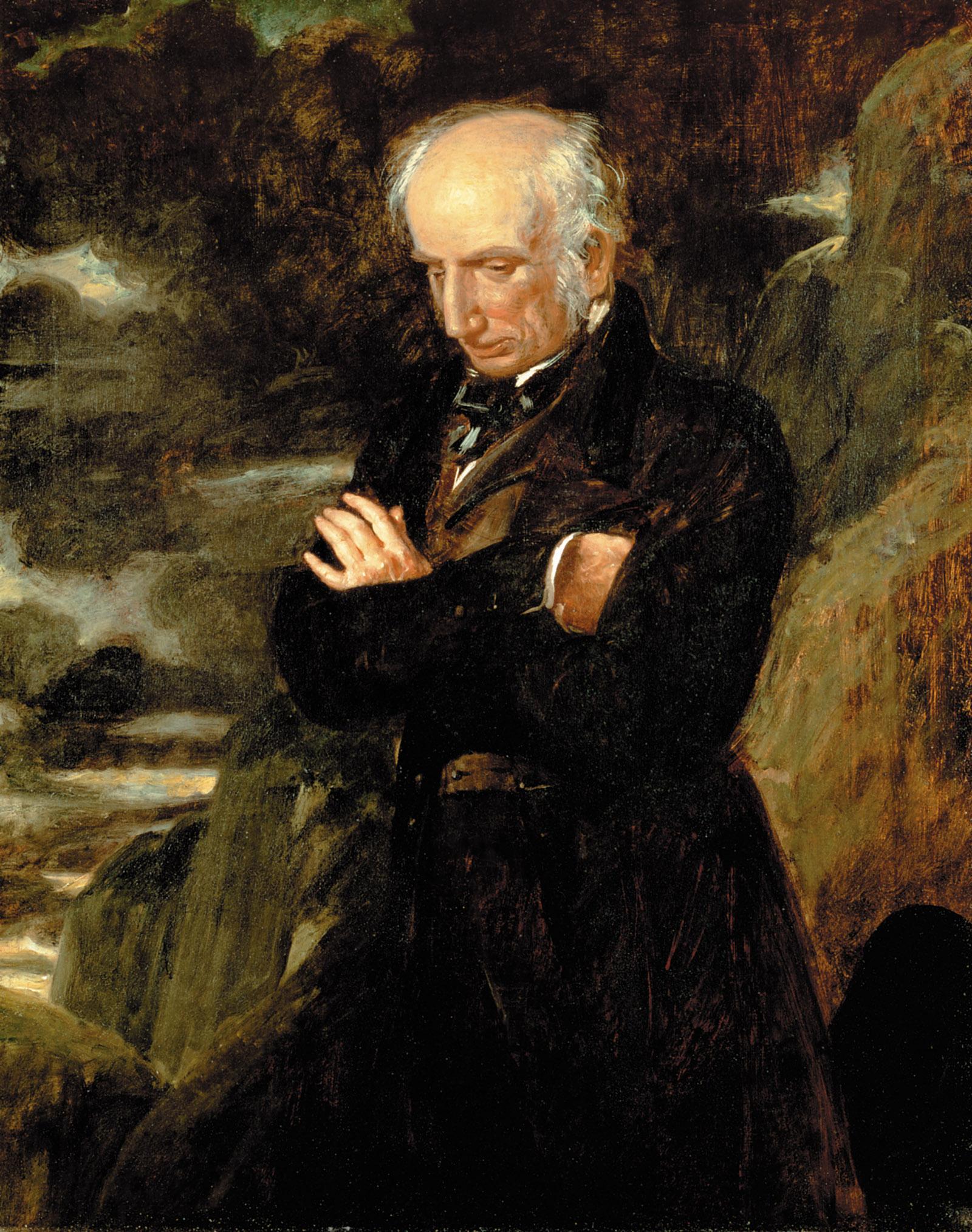 William Wordsworth; portrait by Benjamin Haydon, 1842