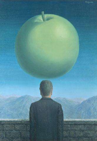 René Magritte: La carte postale (The Postcard), 1960