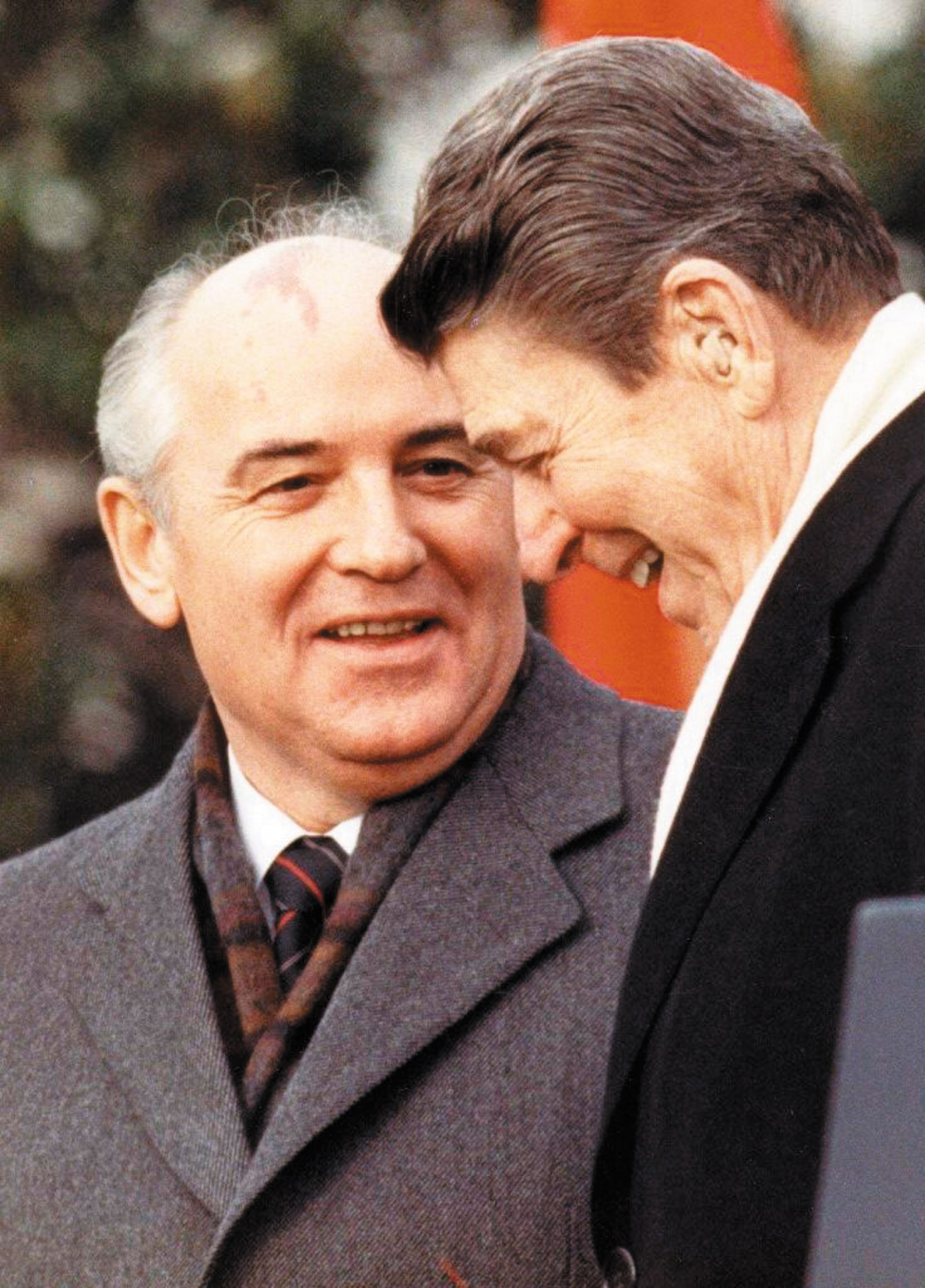 the role of ronald reagan and mikhail gorbachev in ending the cold war The second was mikhail gorbachev, who brought that system down   gorbachev's dialogue with ronald reagan on security matters was not  buried  the world communist system, marking the end of the cold war and.