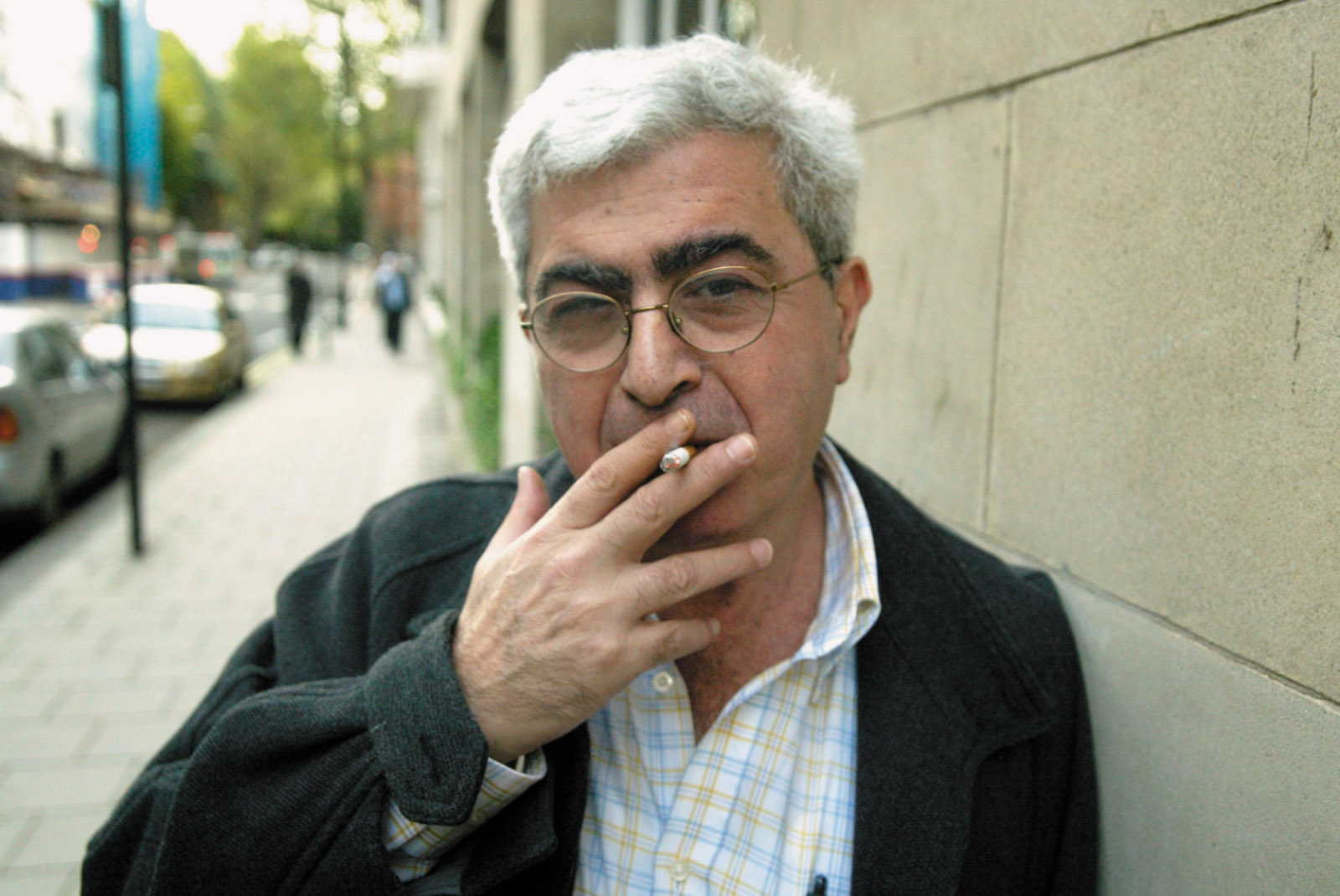 Elias Khoury, London, 2006
