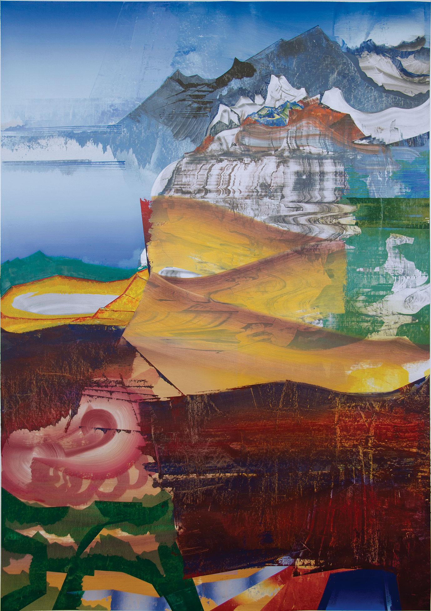 Elliott Green: Beach Mountain, 2015
