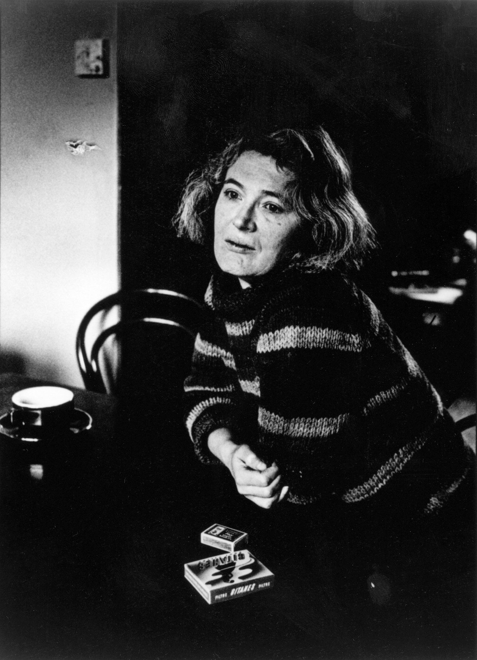 Angela Carter, 1981; photograph by Sally Soames