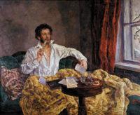 Alexander Pushkin; painting by Pyotr Konchalovsky, 1932