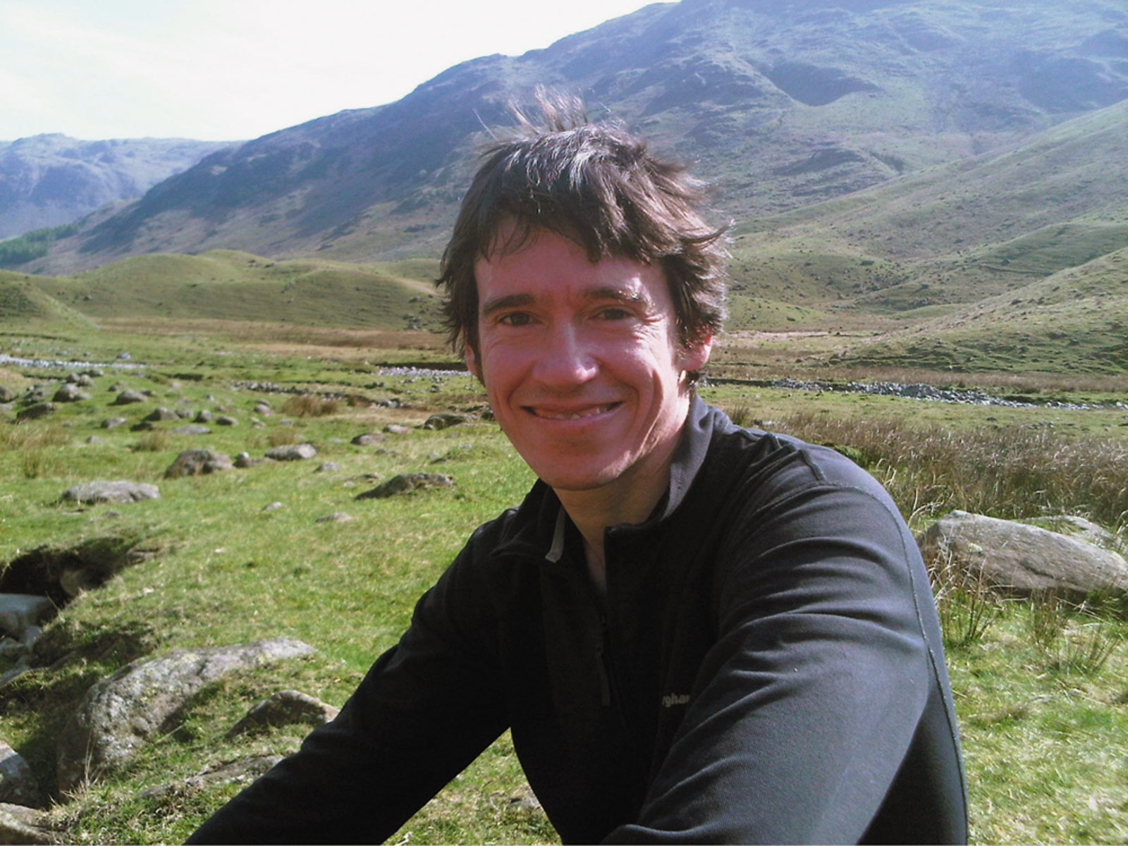 Rory Stewart in the Lake District, Cumbria, northwest England, 2011