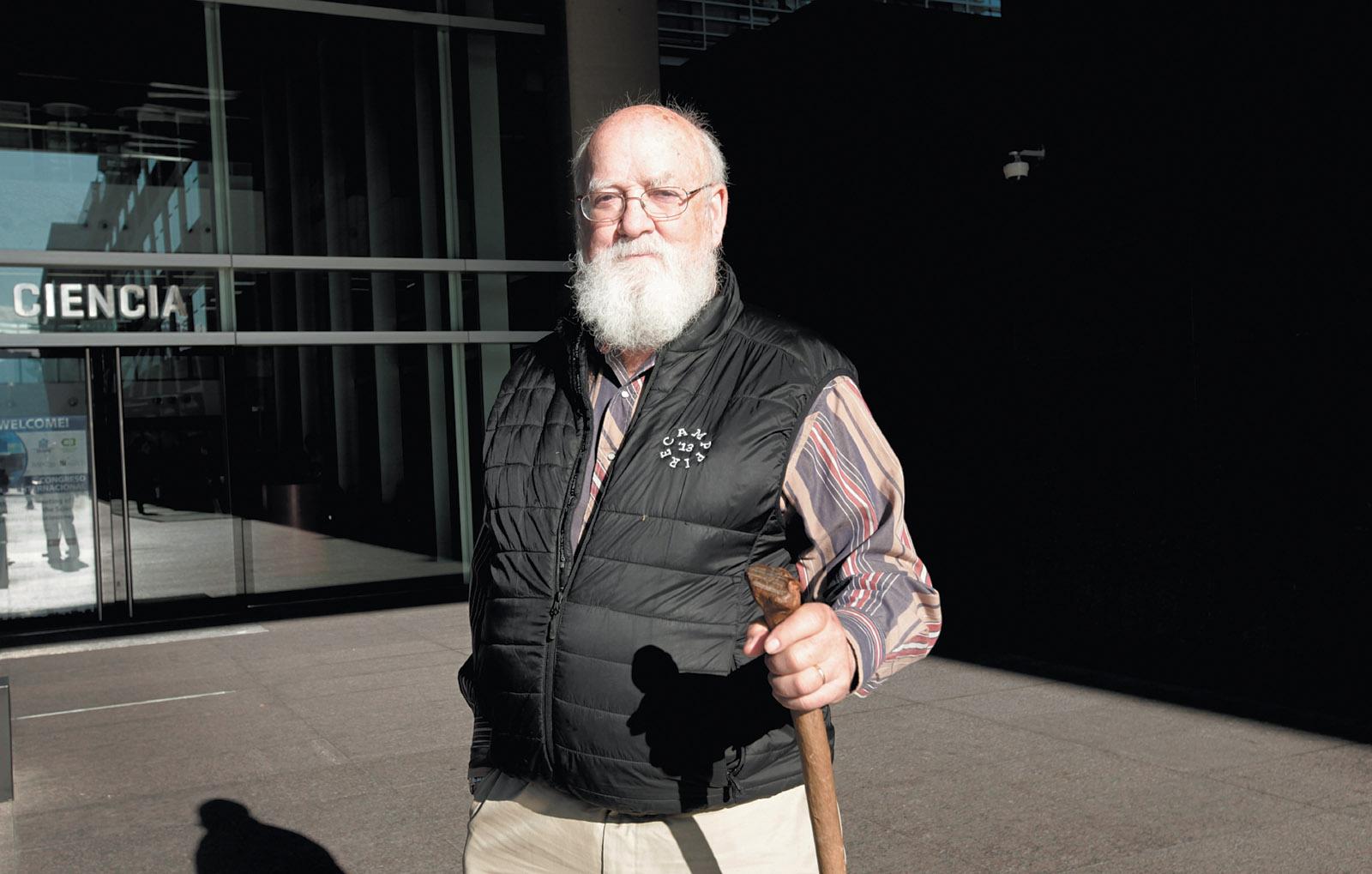 Daniel Dennett at the Centro Cultural de la Ciencia, Buenos Aires, Argentina, June 2016