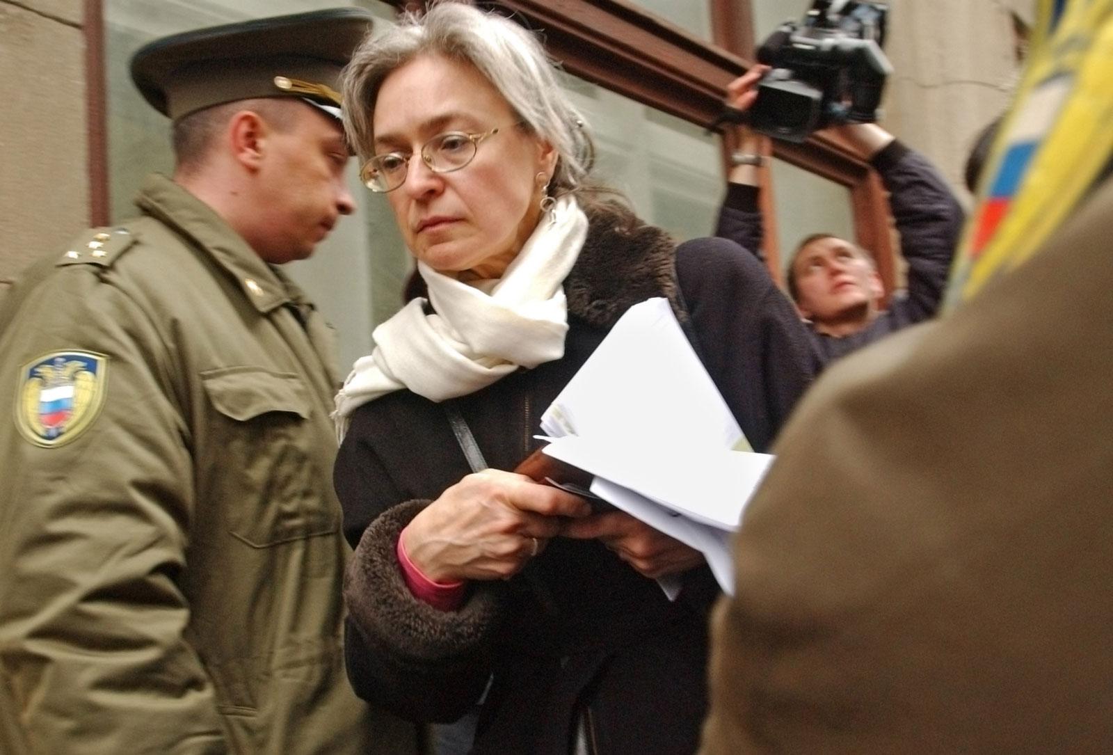 Anna Politkovskaya, circa 2005