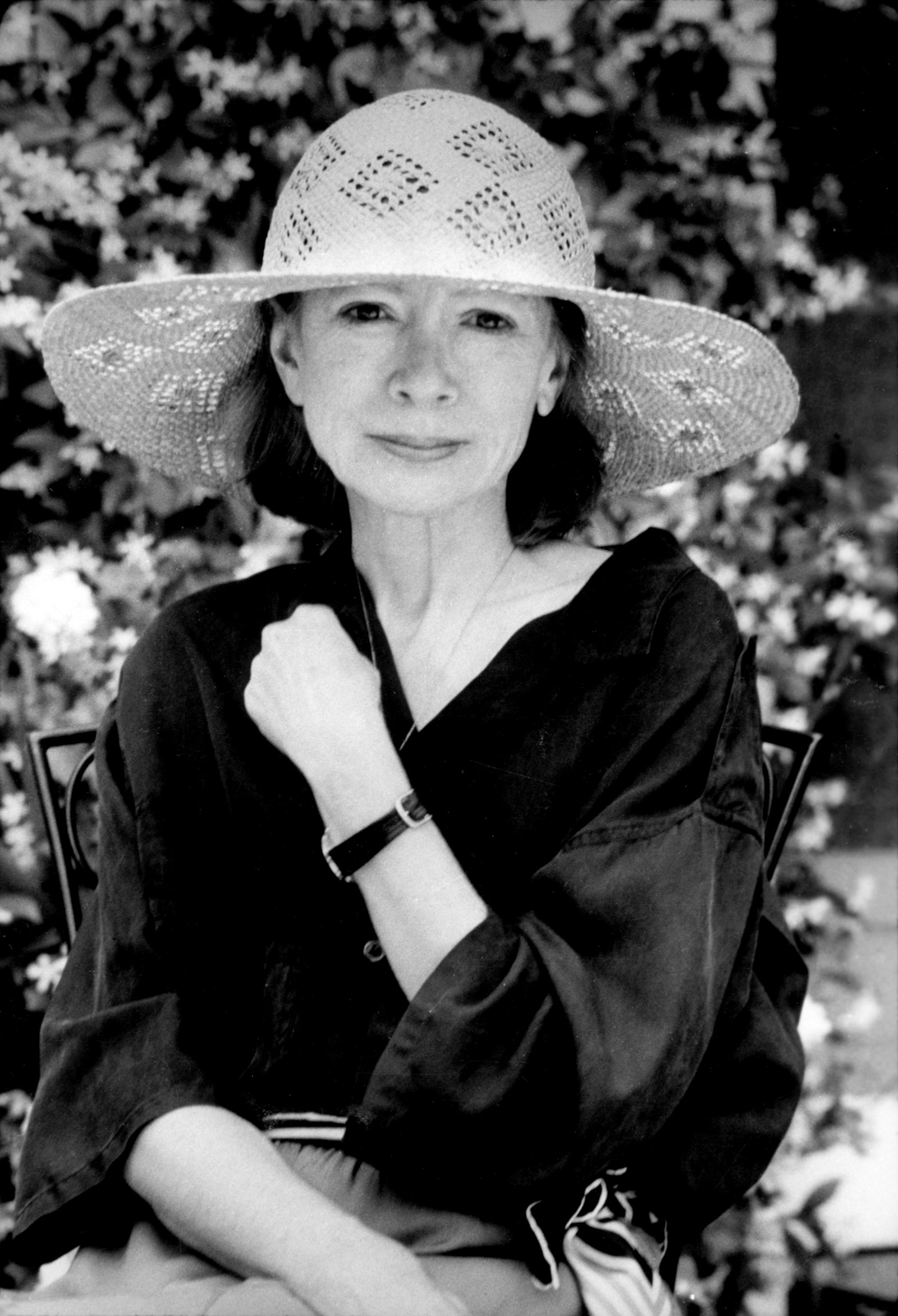 Joan Didion, Los Angeles, May 1987