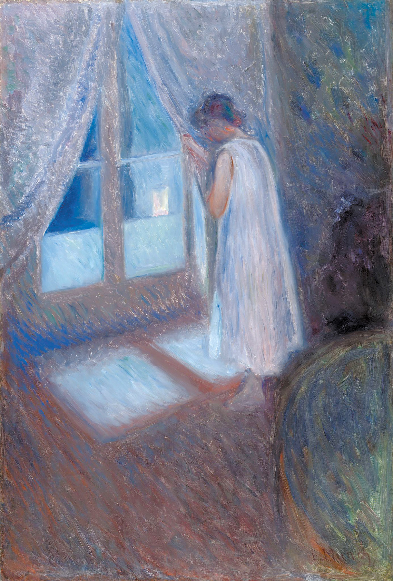 Edvard Munch: The Girl by the Window, 1893