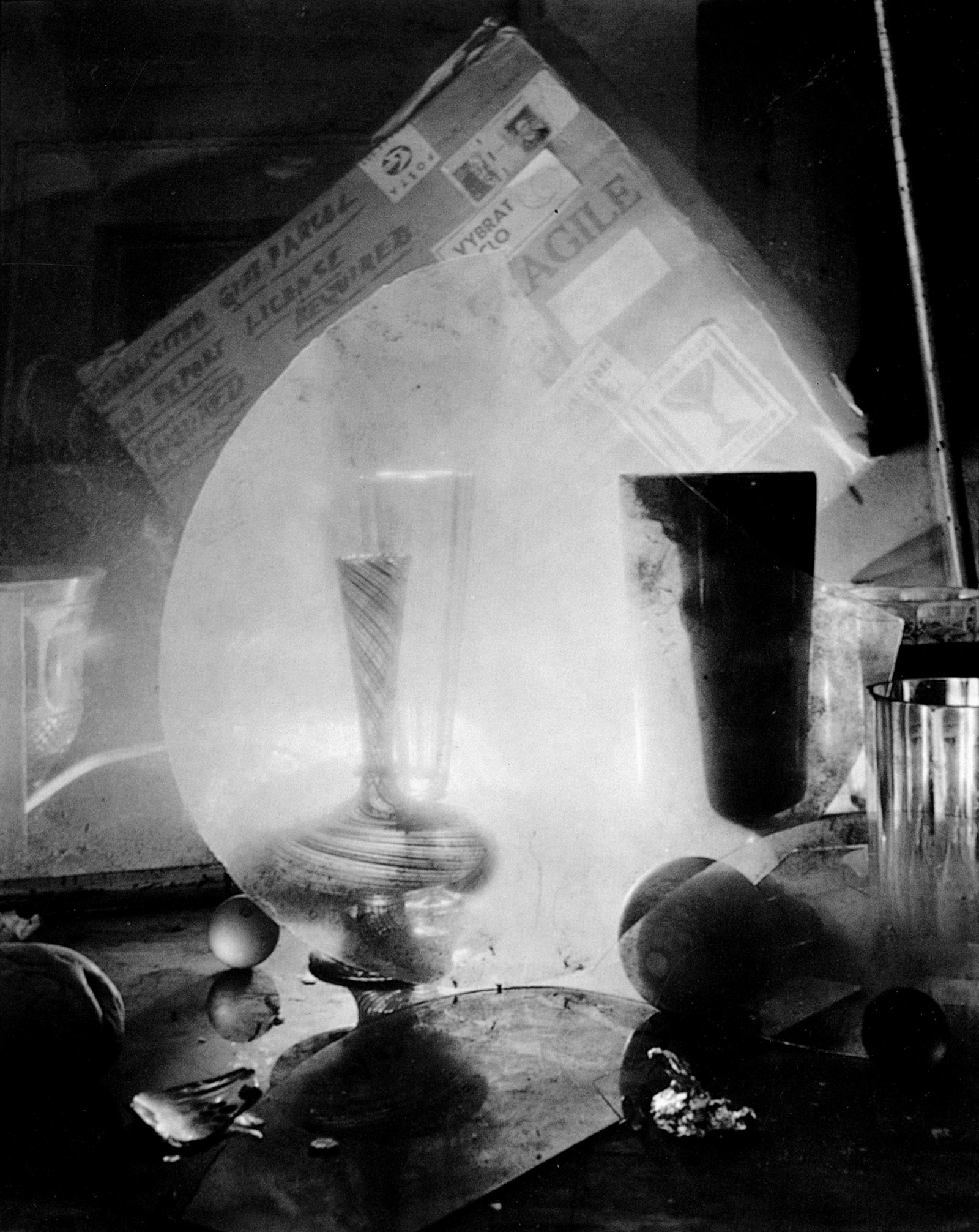 Photograph by Josef Sudek from his 'Glass Labyrinths' series, 1963–1972