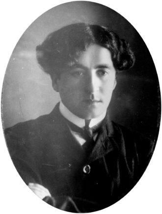 S.Y. Agnon, 1908