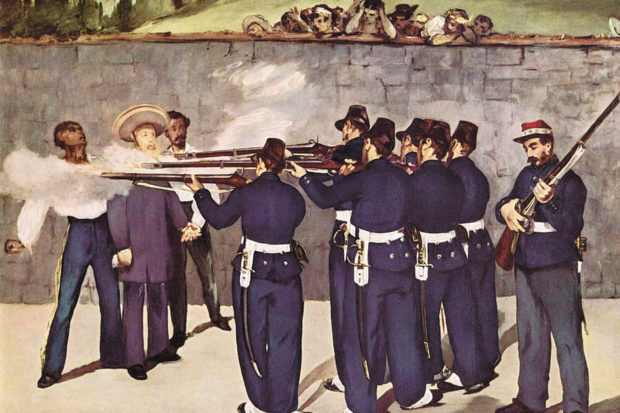 Édouard Manet: <i>The Execution of Emperor Maximilian</i>, 1868–1869