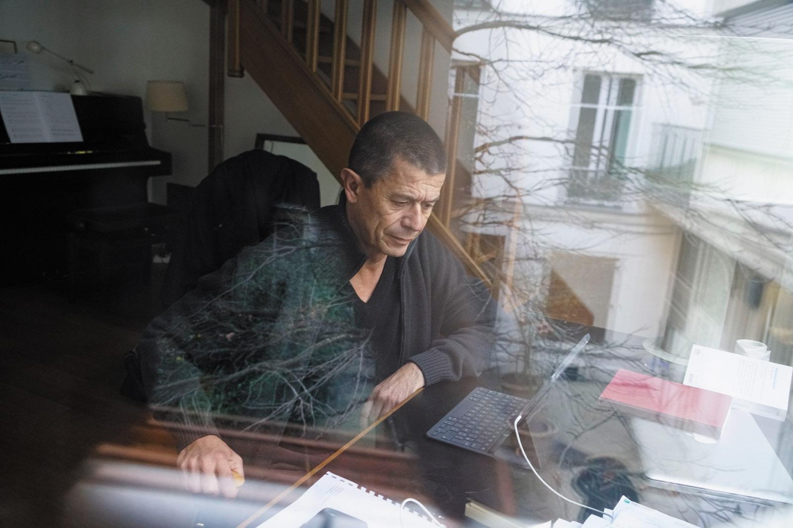 Emmanuel Carrère, Paris, January 2017