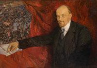 Isaak Brodsky: V.I.Lenin and Manifestation, 1919