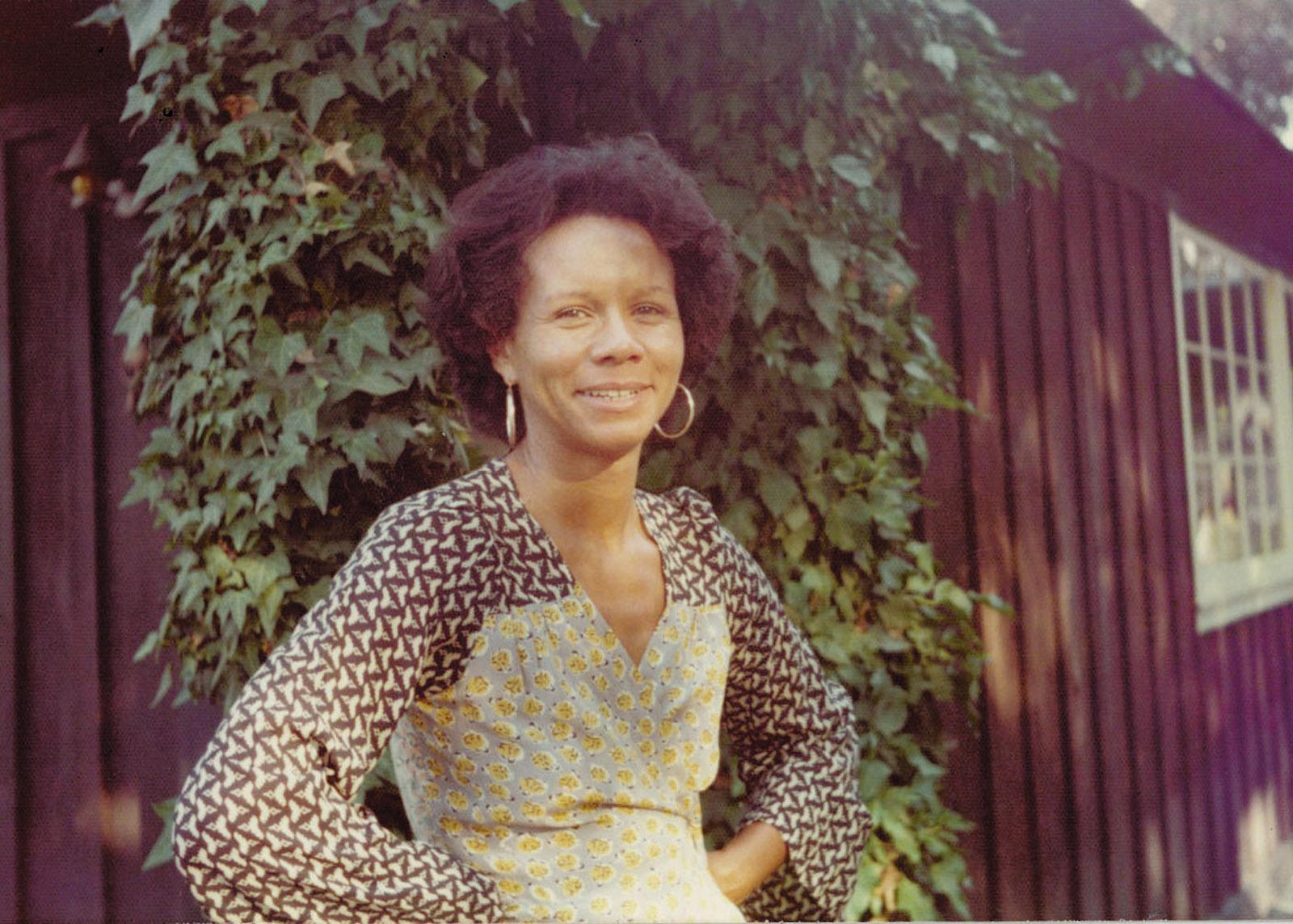 Kathleen Collins, upstate New York, circa 1983