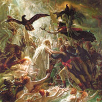 Anne-Louis Girodet: Ossian Receiving the Ghosts of the French Heroes, circa 1800