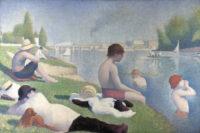 Georges Seurat: Bathers at Asnières, 1884