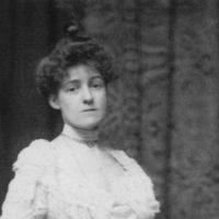 Edith Wharton, circa 1901; photograph by Zaida Ben-Yusuf