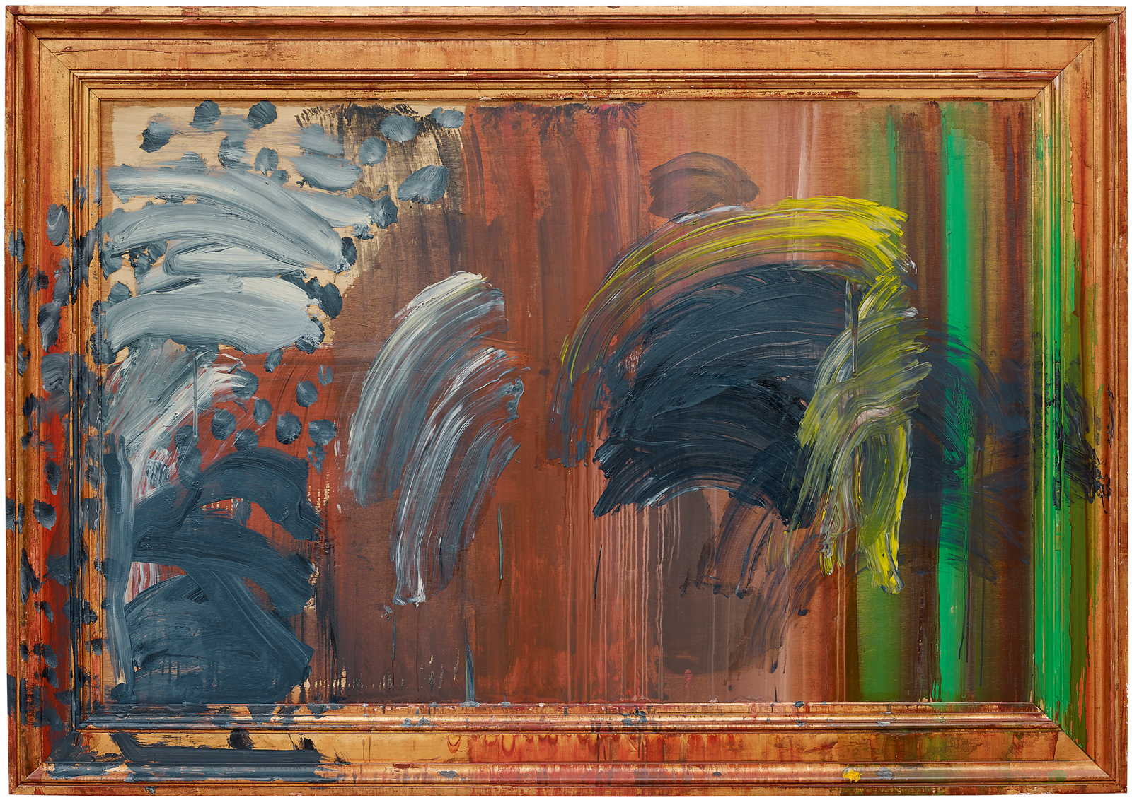 Howard Hodgkin Paintings That Shout By Jenny Uglow