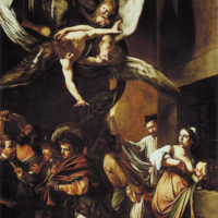 Caravaggio: The Seven Acts of Mercy, 1607
